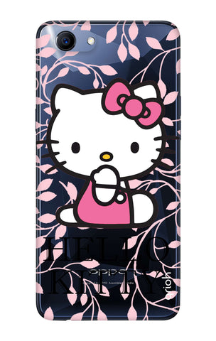 Hello Kitty Floral Oppo Realme 1  Cases & Covers Online