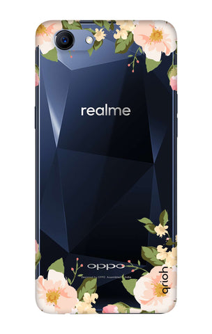 Flower In Corner Oppo Realme 1  Cases & Covers Online