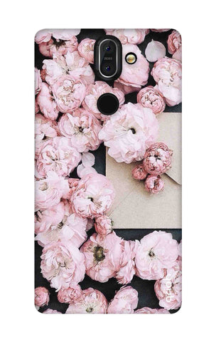 Roses All Over Nokia 8 Sirocco Cases & Covers Online