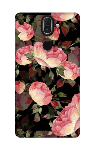 Watercolor Roses Nokia 8 Sirocco Cases & Covers Online