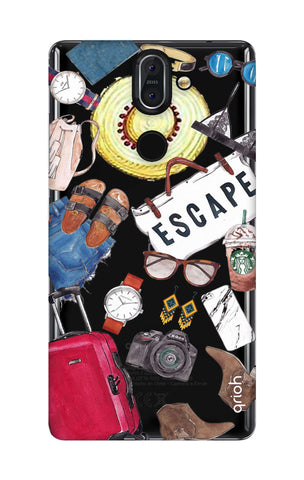 Travel Doodle Nokia 8 Sirocco  Cases & Covers Online