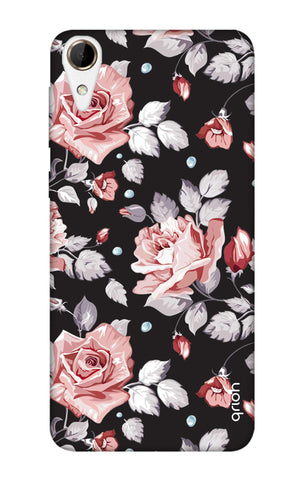 Shabby Chic Floral HTC 828 Cases & Covers Online