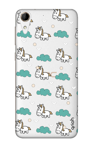 Unicorn In The Clouds HTC 828 Cases & Covers Online