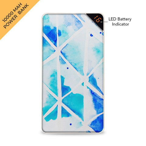 Watercolor Canvas 10000 mAh Universal Power Bank Online
