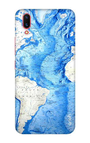 World Map Vivo X21 UD Cases & Covers Online