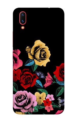 Colorful Flowers Vivo X21 UD Cases & Covers Online