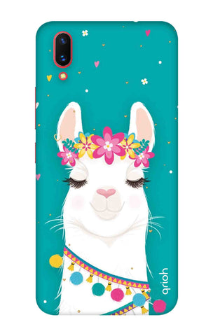 Cute Llama Vivo X21 UD Cases & Covers Online