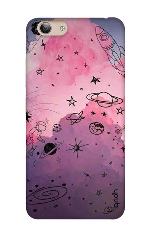 Space Doodles Art Vivo Y53i Cases & Covers Online