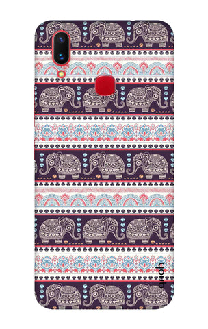 Elephant Pattern Vivo X21 Cases & Covers Online
