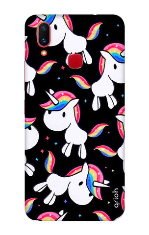 Colourful Unicorn Vivo X21 Cases & Covers Online