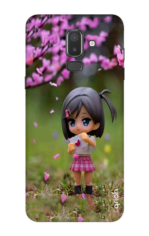 Cute Girl Samsung J8 Cases & Covers Online