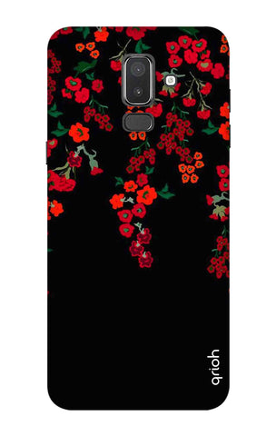 Floral Deco Samsung J8 Cases & Covers Online