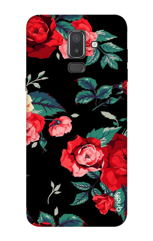 Wild Flowers Samsung J8 Cases & Covers Online