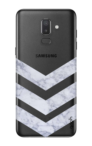 Marble Chevron Samsung J8 Cases & Covers Online