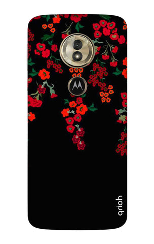 Floral Deco Motorola Moto G6 Play Cases & Covers Online