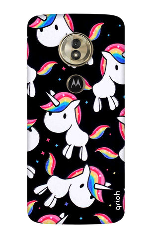 Colourful Unicorn Motorola Moto G6 Play Cases & Covers Online