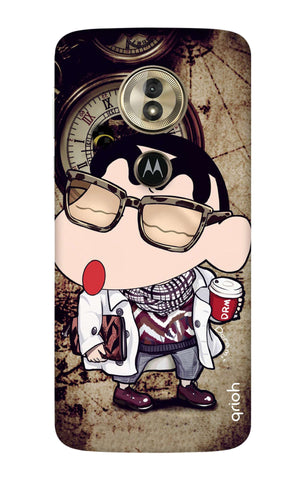 Nerdy Shinchan Motorola Moto G6 Play Cases & Covers Online