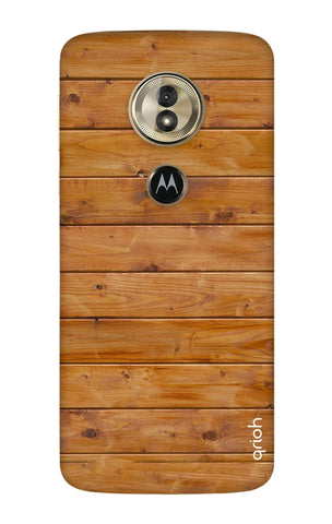 Natural Wood Motorola Moto G6 Play Cases & Covers Online