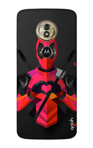 Valentine Deadpool Motorola Moto G6 Play Cases & Covers Online