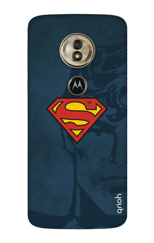 Wild Blue Superman Motorola Moto G6 Play Cases & Covers Online