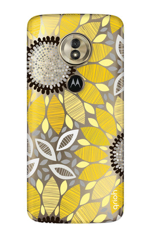 Stitched Floral Motorola Moto G6 Play  Cases & Covers Online