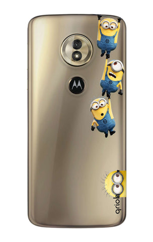 Falling Minions Motorola Moto G6 Play  Cases & Covers Online
