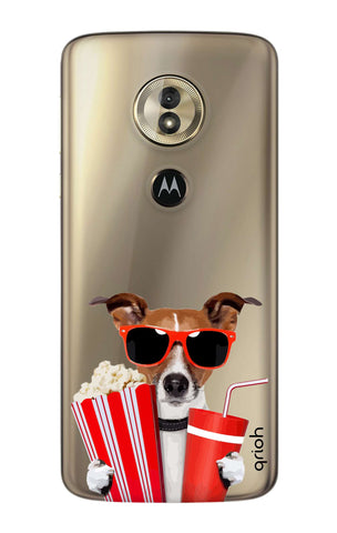 Dog Watching 3D Movie Motorola Moto G6 Play  Cases & Covers Online