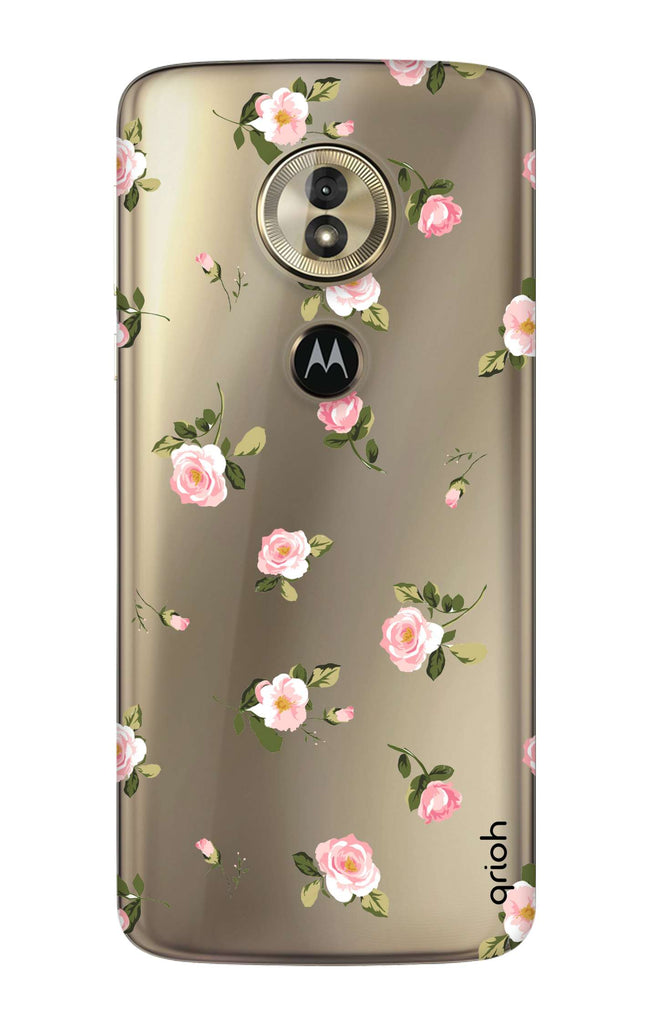 online store 13840 1bea0 Pink Rose All Over Case for Motorola Moto G6 Play