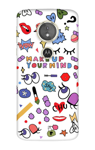 Makeup Your Mind Motorola Moto E5 Cases & Covers Online