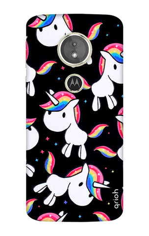 Colourful Unicorn Motorola Moto E5 Cases & Covers Online