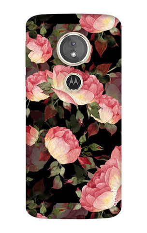 Watercolor Roses Motorola Moto E5 Cases & Covers Online