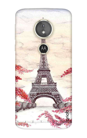 Eiffel Art Motorola Moto E5 Cases & Covers Online