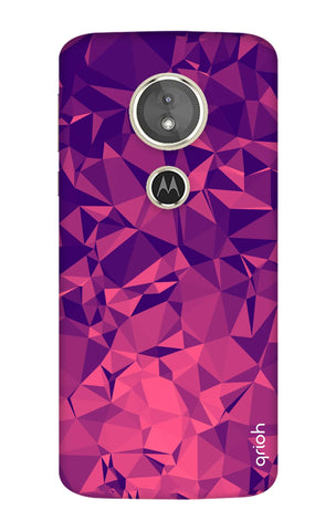 Purple Diamond Motorola Moto E5 Cases & Covers Online