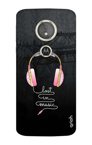 Lost In Music Motorola Moto E5 Cases & Covers Online