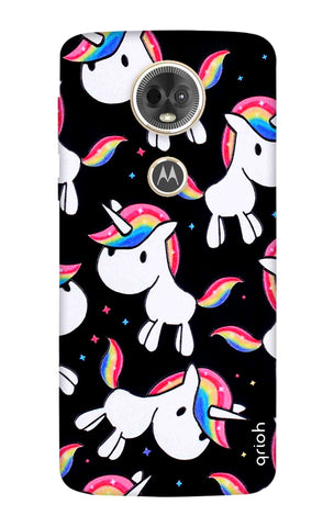 Colourful Unicorn Motorola Moto E5 Plus Cases & Covers Online
