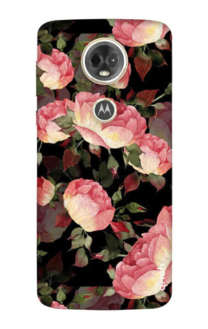 Watercolor Roses Motorola Moto E5 Plus Cases & Covers Online