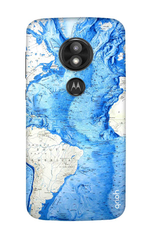 World Map Motorola Moto E5 Play Cases & Covers Online