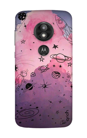 Space Doodles Art Motorola Moto E5 Play Cases & Covers Online