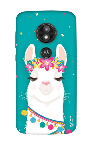 Cute Llama Motorola Moto E5 Play Cases & Covers Online