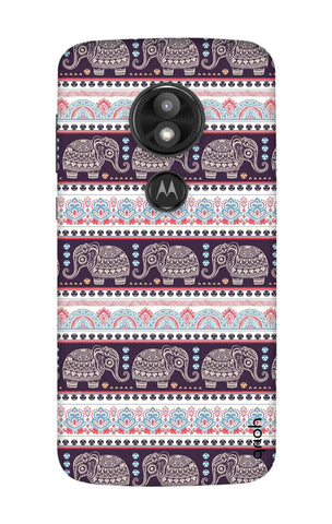Elephant Pattern Motorola Moto E5 Play Cases & Covers Online