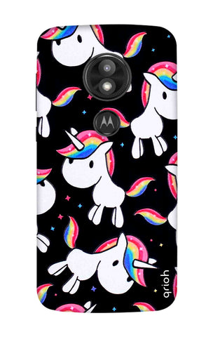Colourful Unicorn Motorola Moto E5 Play Cases & Covers Online