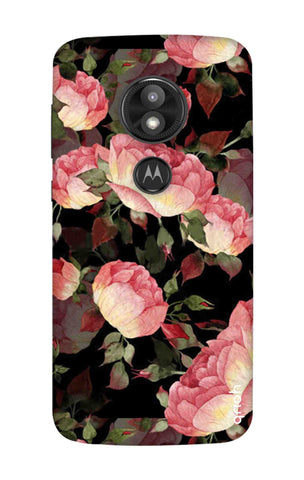 Watercolor Roses Motorola Moto E5 Play Cases & Covers Online