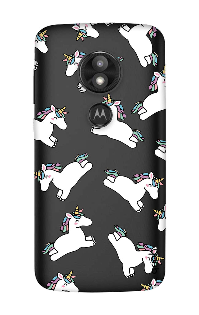 wholesale dealer 14a10 654d4 Jumping Unicorns Case for Motorola Moto E5 Play