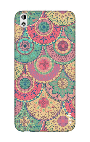 Colorful Mandala HTC 816 Cases & Covers Online
