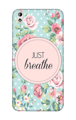 Vintage Just Breathe HTC 816 Cases & Covers Online