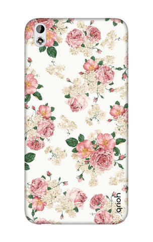 Floral Pattern HTC 816 Cases & Covers Online