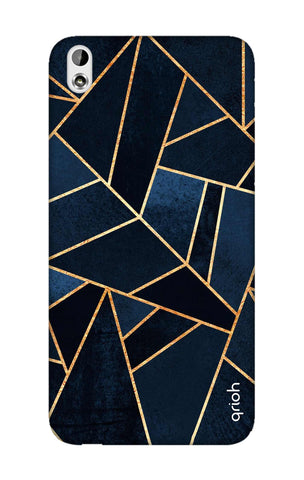 Abstract Navy HTC 816 Cases & Covers Online