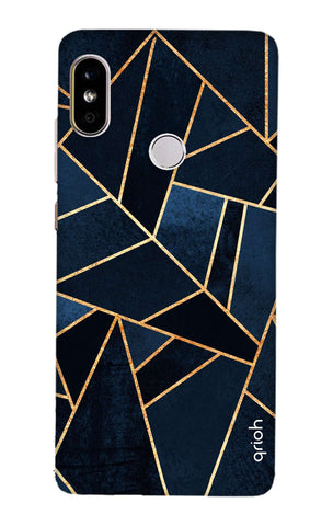 Abstract Navy Xiaomi Mi A2 Cases & Covers Online