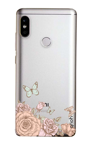 Flower And Butterfly Xiaomi Mi A2  Cases & Covers Online