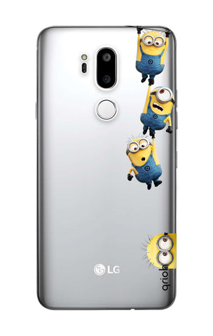 Falling Minions LG G7 ThinQ  Cases & Covers Online